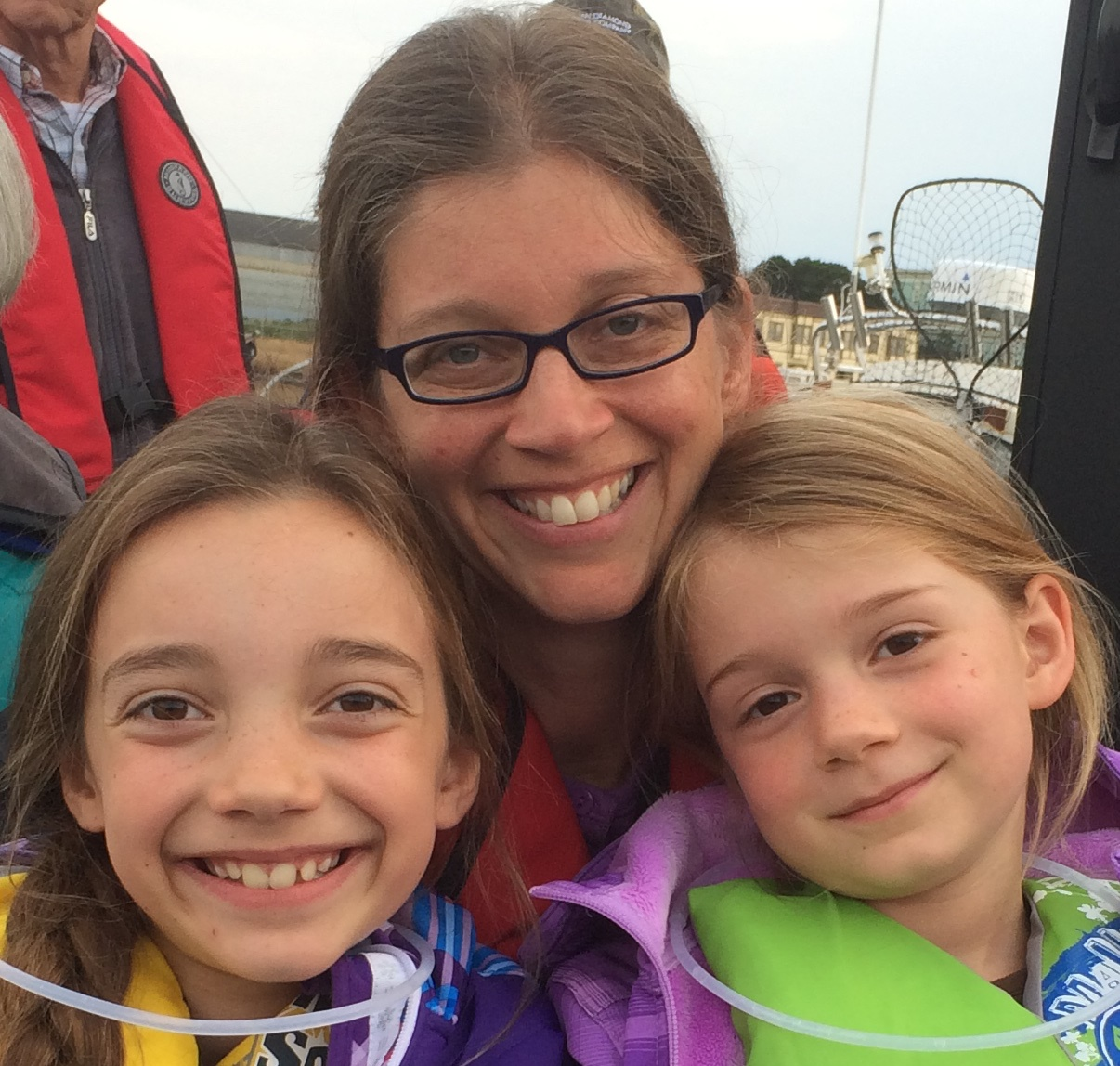Executive Director, Hillarie Beyer, and her two children